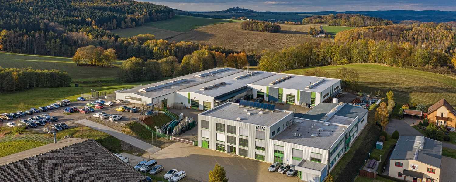 topview premises of the ZABAG GmbH